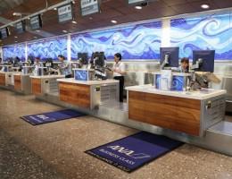 Thông tin về quá trình làm thủ tục của All Nippon Airways